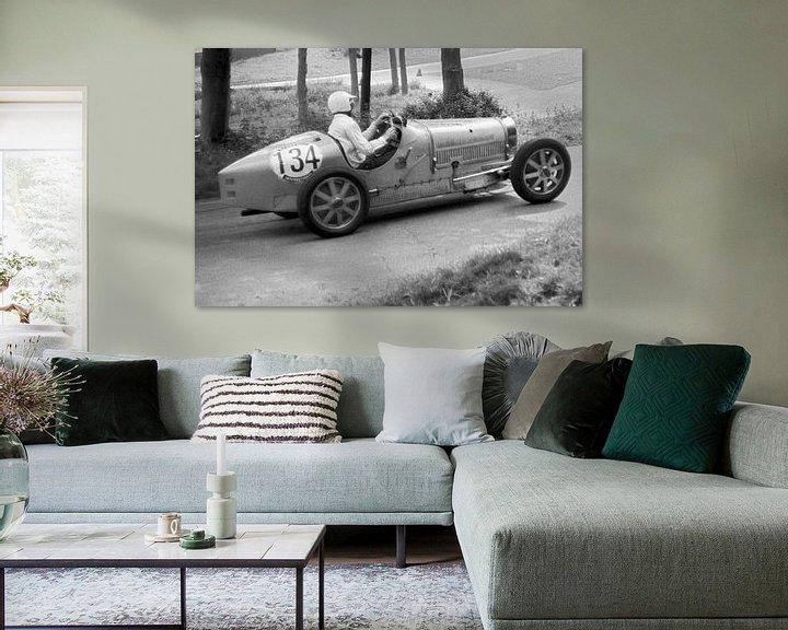 Sfeerimpressie: 1924 - Bugatti type 35 van Timeview Vintage Images