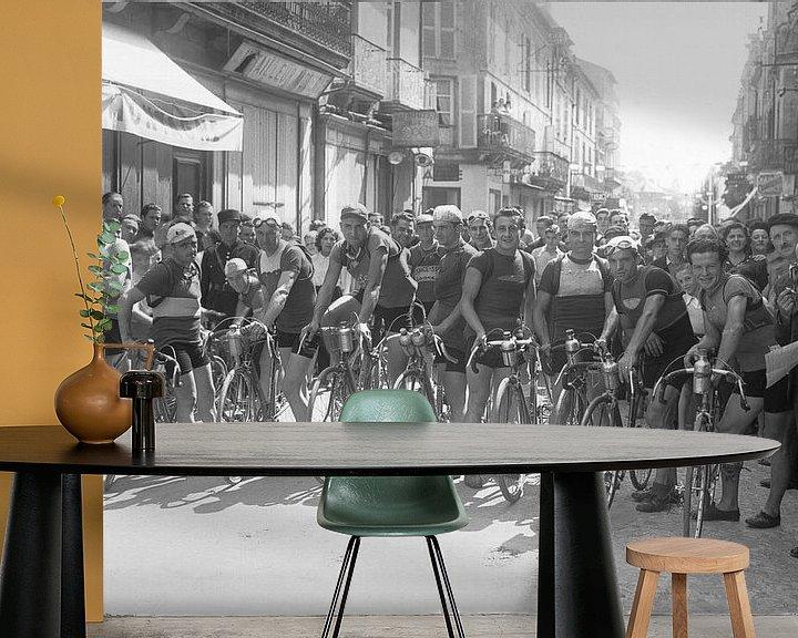 Beispiel fototapete: Tour de France 1924 von Timeview Vintage Images