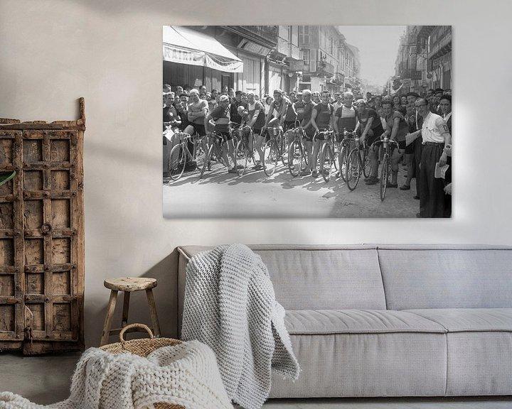 Beispiel: Tour de France 1924 von Timeview Vintage Images