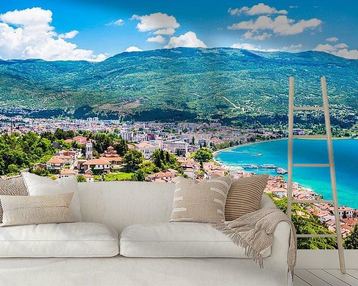 Sfeerimpressie behang: Ohrid van Thomas van der Willik