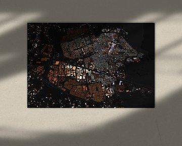 Kaart van Ede abstract von Stef Verdonk