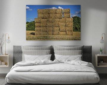 Een muur van stro