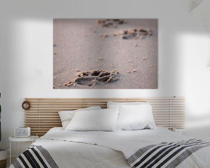 Sfeerimpressie: Pootafdrukken in het zand van Ramon Bovenlander