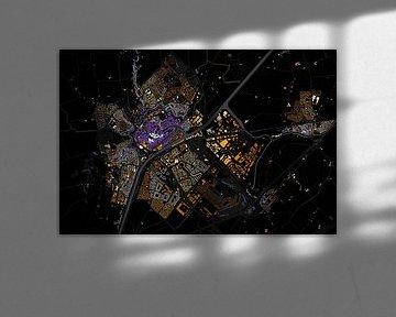 Kaart van Middelburg van Stef Verdonk