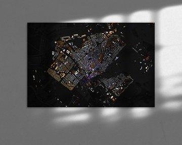 Kaart van Zeist abstract