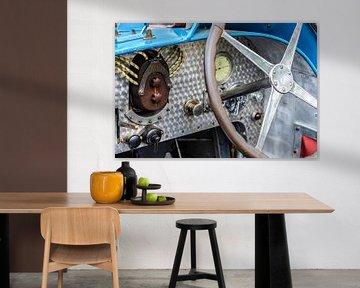 Détail sur un type 35 voiture de Bugatti sur Sjoerd van der Wal