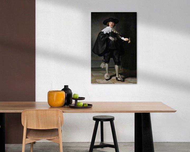 Sfeerimpressie: Marten Soolmans van Rembrandt van Rijn