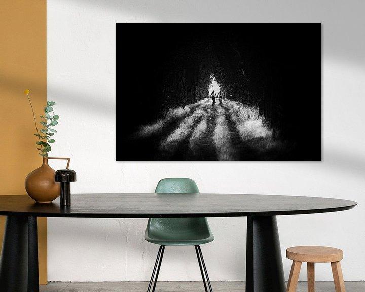 Sfeerimpressie: Het licht is niet bang voor de duisternis ! van Fotografie Jeronimo