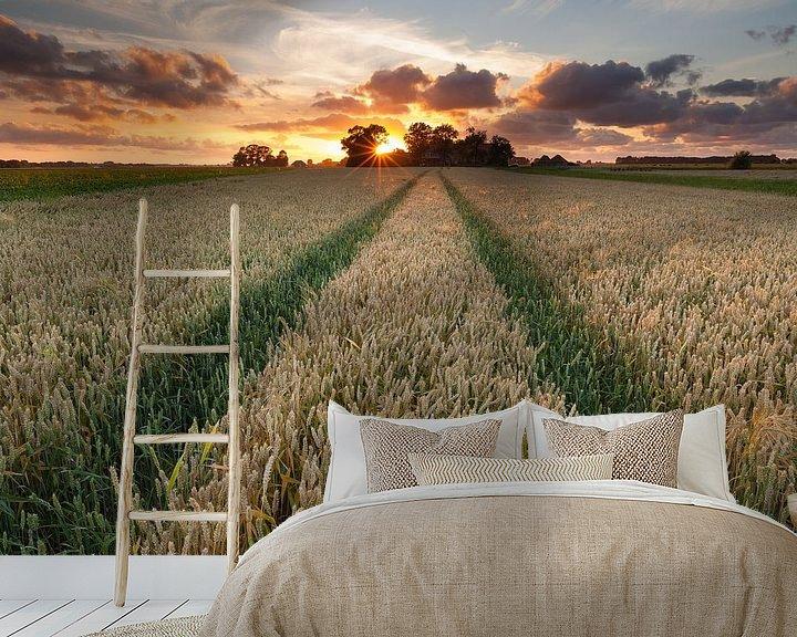 Impression: Zomerse zonsondergang sur Ron Buist