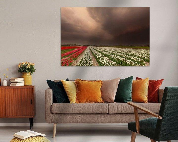 Sfeerimpressie: Storm op komst... van Ron Buist