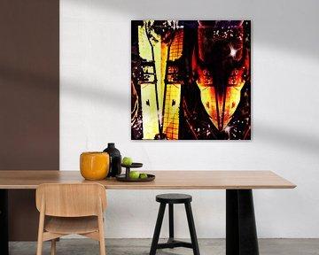 Spiritual Lovebirds von Lovetassie Art