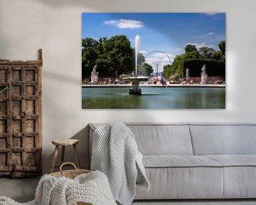 Zomer in Parijs Jardin de Tuileries