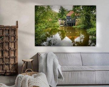 Wassermühle Den Haller in Diepenheim, Niederlande.  von Ron Poot