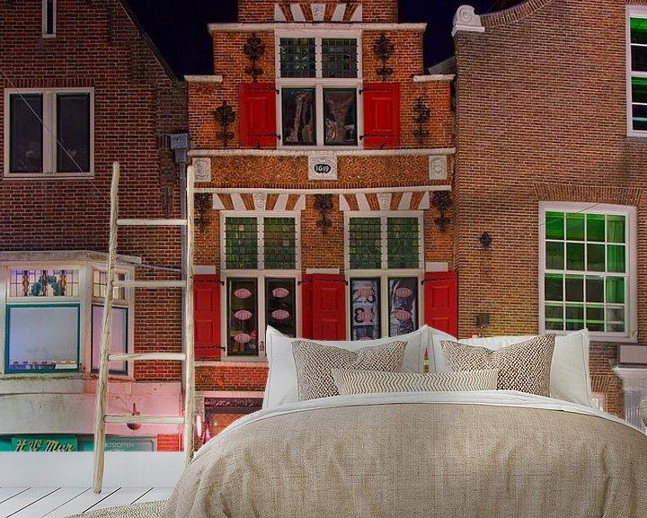 Beispiel fototapete: Mittelalterliche Gebäude Amersfoort von Anton de Zeeuw