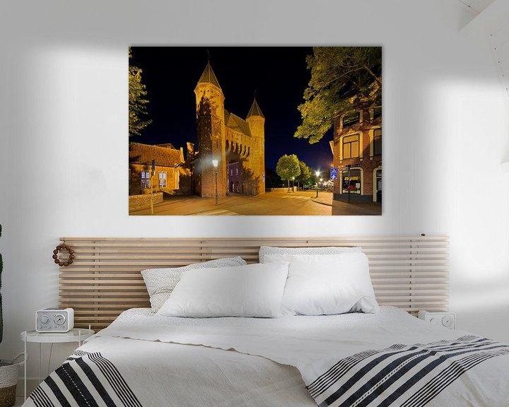 Sfeerimpressie: Kamperbinnenpoort Amersfoort van Anton de Zeeuw
