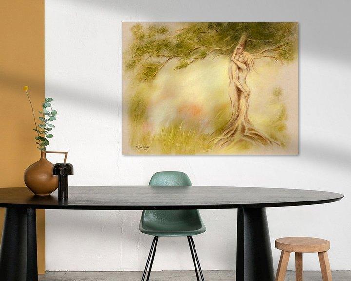 Beispiel: Mystischer Baum ? Bildersymbolik von Marita Zacharias