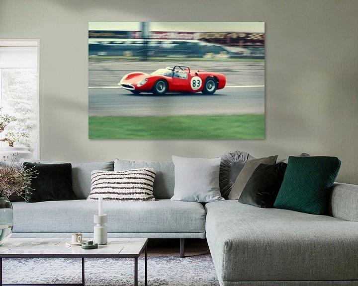 Sfeerimpressie: 1964 - Ferrari Dino van Timeview Vintage Images