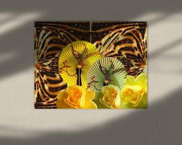 Gelbe Rosen von Martina Fornal
