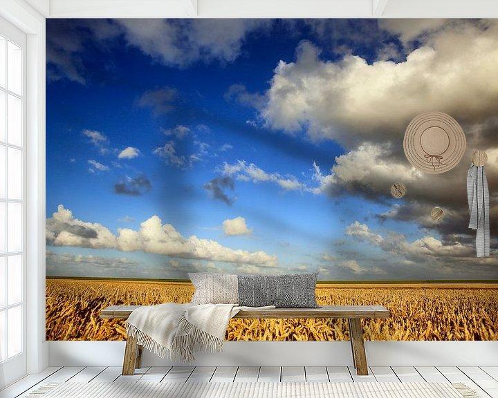 Sfeerimpressie behang: Graanrepubliek in volle glorie van Jan Sportel Photography