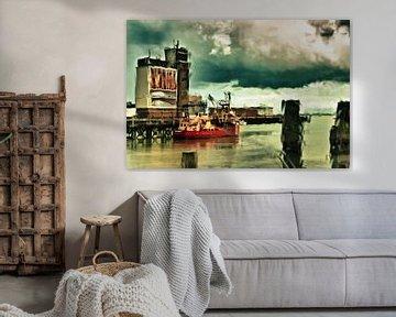 Vissershaven Breskens / Zeeland sur Ellen Driesse
