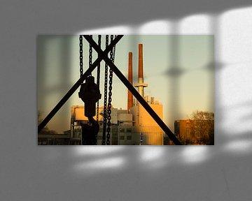 Industrieel erfgoed, oude Philips energiefabriek. van Hennnie Keeris