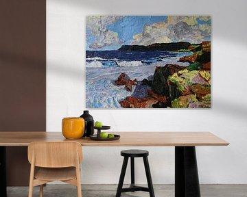 rotsen en zee van Harry Gijsberts