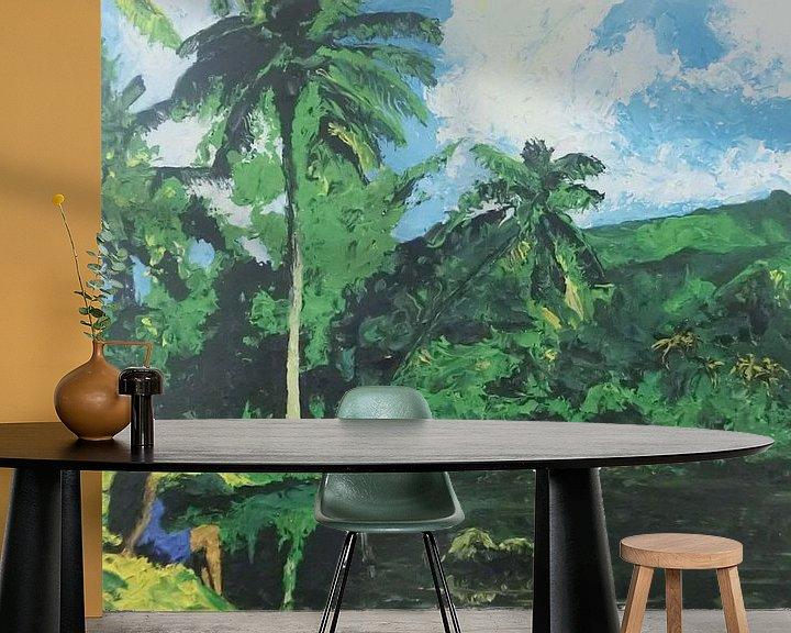 Beispiel fototapete: Polynesië von Harry Gijsberts