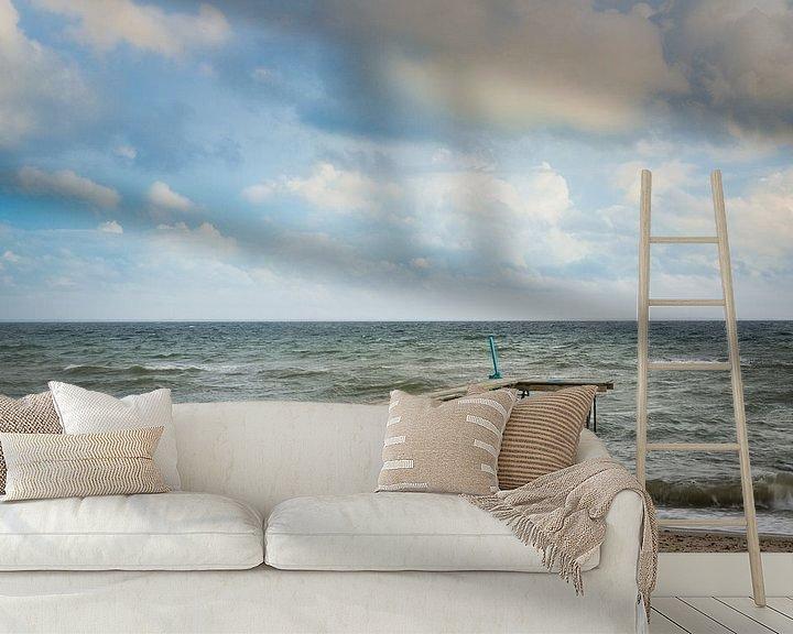 Sfeerimpressie behang: Steiger - Beach Life van Tony Buijse