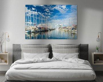 De Jachthaven van Juelsminde van Tony Buijse