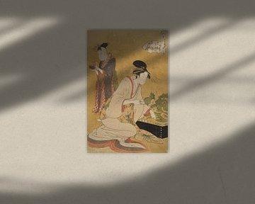 Yashio, Kitagawa Utamaro