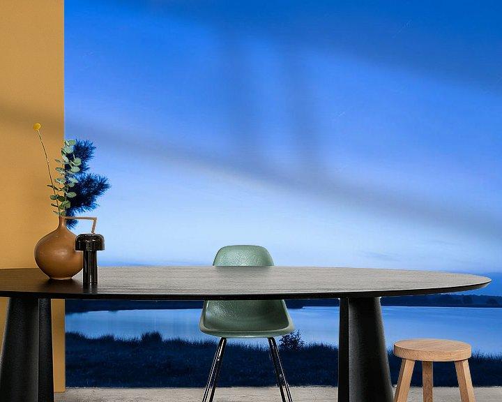 Sfeerimpressie behang: Nachtelijke stilte van Marcel Runhart