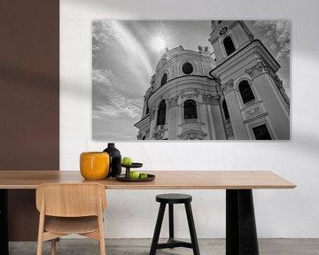 Kollegienkirche  Salzburg von Eus Driessen