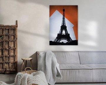 Eiffeltoren - Pop Art van Didden Art