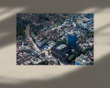 Luchtfoto van de binnenstad Utrecht van De Utrechtse Internet Courant (DUIC)