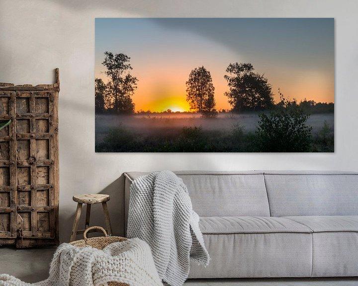 Impression: Sunrise Mist sur William Mevissen