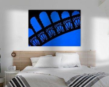Close-up Eiffeltoren Parijs. von Hennnie Keeris