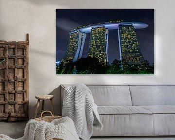 Marina Bay Sands van Ilya Korzelius