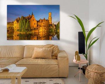 Brugge by Night - 2 von Tux Photography