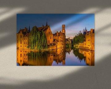 Brugge by Night - 1 von Tux Photography