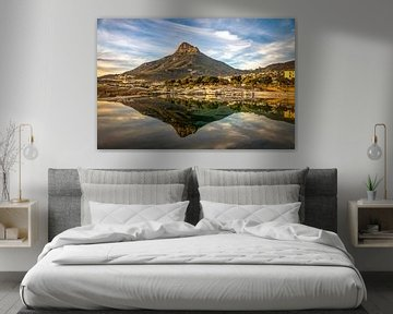 Sonnenuntergang Tafelberg in Kapstadt von Eric van den Berg