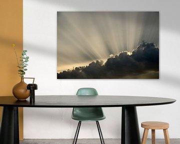 Achter de wolken schijnt de zon van Jaco Verheul