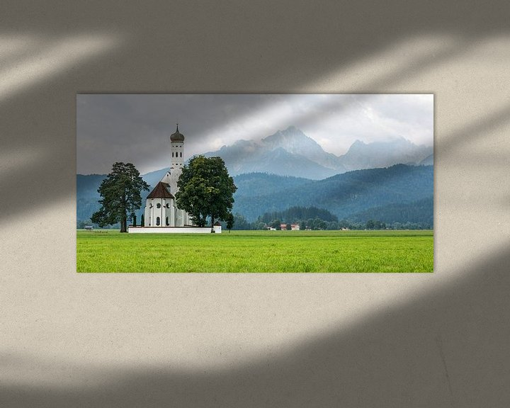 Sfeerimpressie: St. Colomanskerk in Schwangau van MS Fotografie   Marc van der Stelt