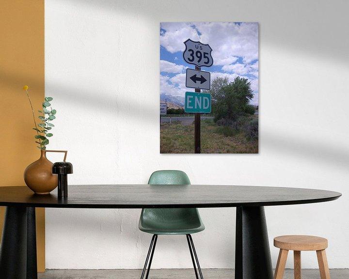 Impression: Road sign 3 sur Karen Boer-Gijsman