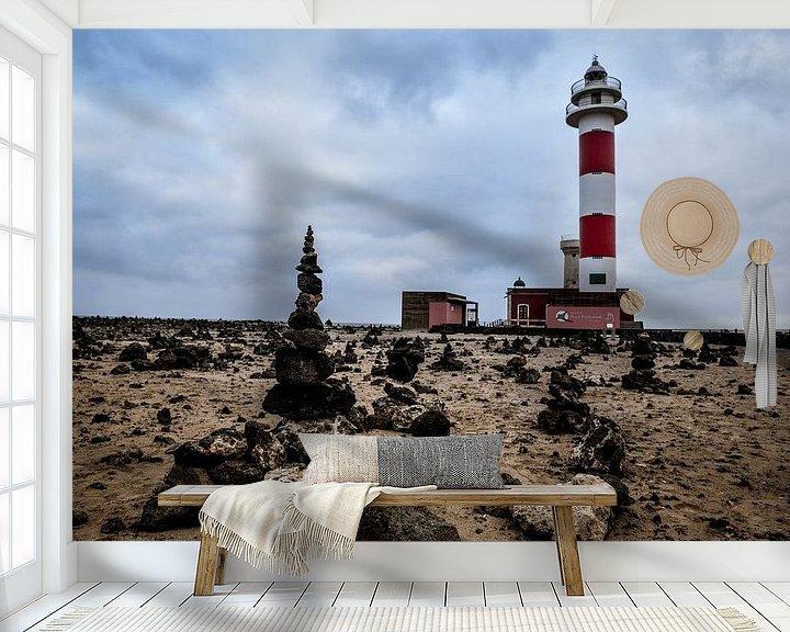 Beispiel fototapete: Building a lighthouse von Arjan Penning