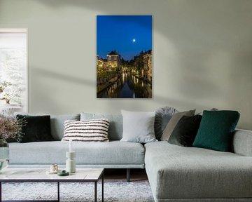 Nachtportret van Utrecht