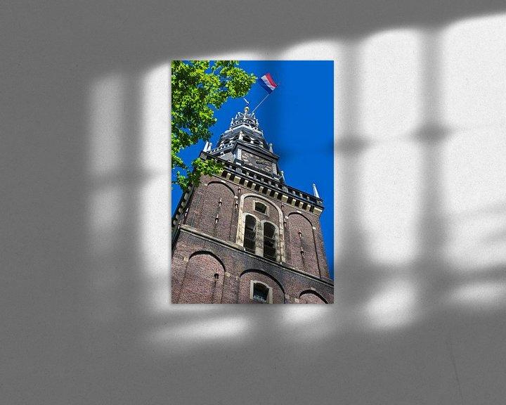 Sfeerimpressie: Oude Kerk Amsterdam van Anton de Zeeuw