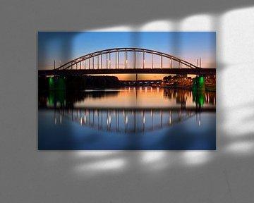 John Frostbrug spiegelbeeld te Arnhem