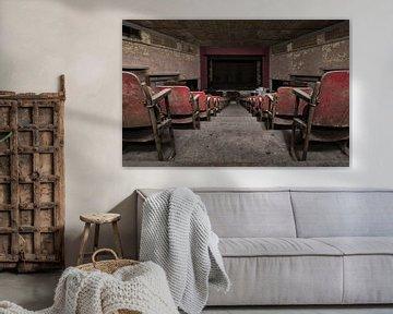 Oud theater van Paul De Kinder