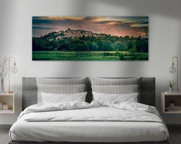 Frankrijk Dauphin zonsondergang van Gerco Stokvis