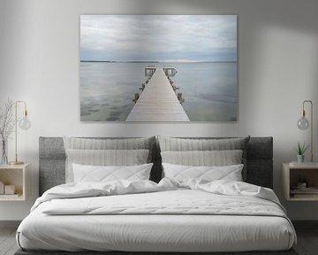 Steiger In Zee van Melvin Fotografie